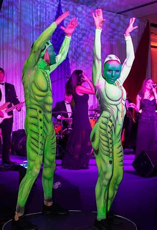 Cirque du Soleil performances