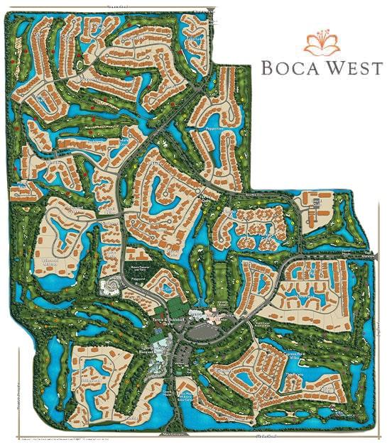 Boca West MAster Site Plan