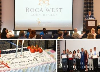 Boca West Internship Program Graduation Day
