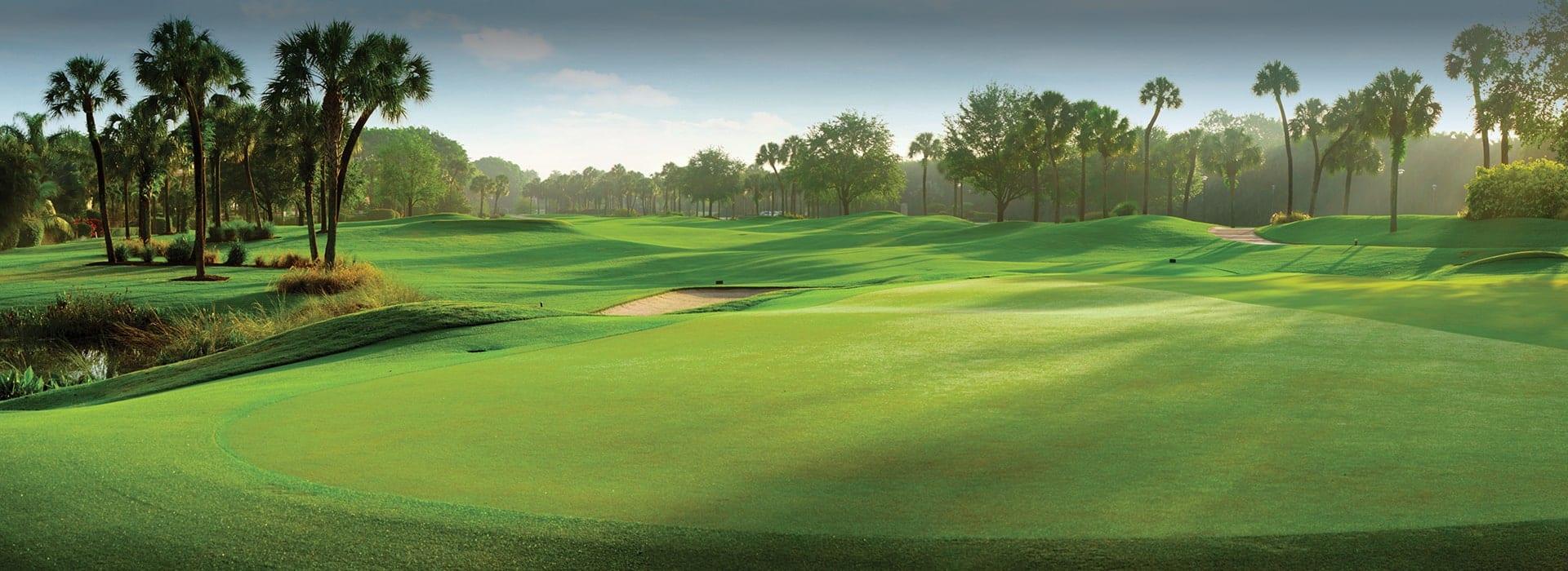 Pristine Fairway at Boca West golf course