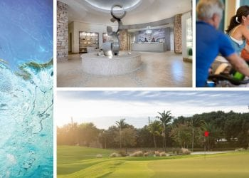 Collage showing Boca West Amenities