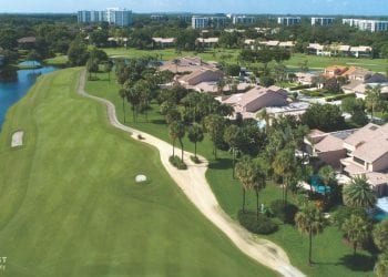 Overview of a Boca West Golf Course