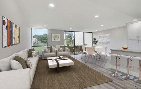 Gemini Homes Living Room